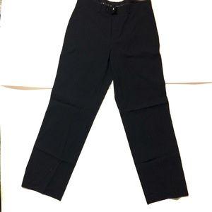 Inc Men's Black Striped Pants